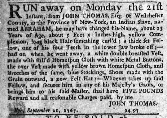 Nov 19 - New-York Journal Supplement Slavery 1