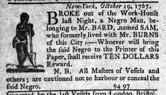 Nov 19 - New-York Journal Supplement Slavery 2