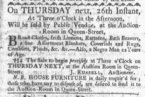 Nov 23 - Boston-Gazette Slavery 1
