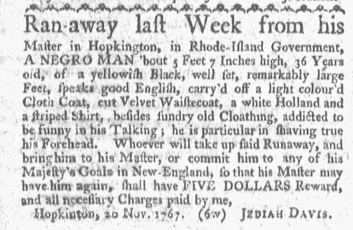Nov 23 - Boston-Gazette Slavery 2