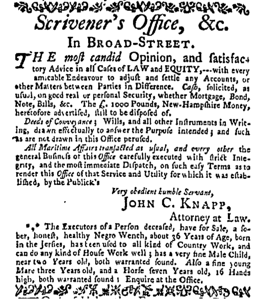 Nov 30 - New-York Mercury Slavery 2