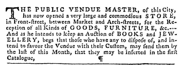 Dec 17 - 12:17:1767 Pennsylvania Gazette