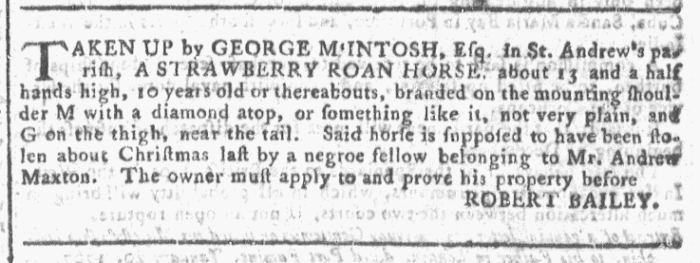 Dec 2 - Georgia Gazette Slavery 7