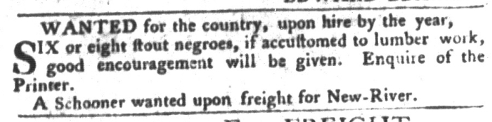 Feb 2 - South-Carolina Gazette and Country Journal Supplement Slavery 7