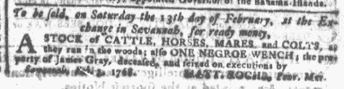 Feb 3 - Georgia Gazette Slavery 4