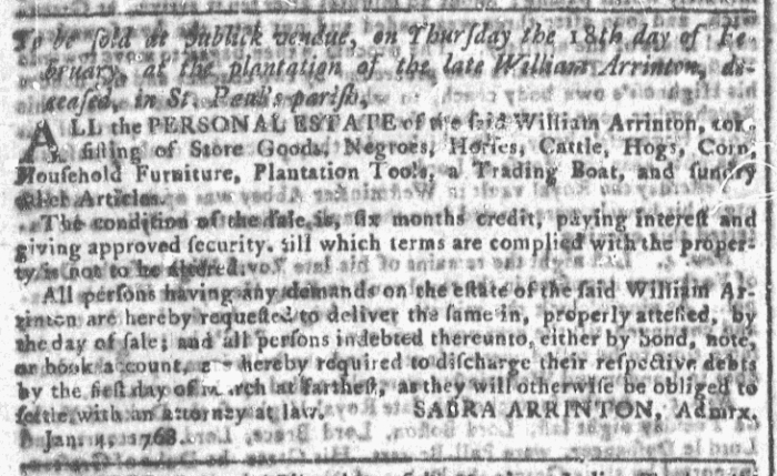Feb 3 - Georgia Gazette Slavery 5