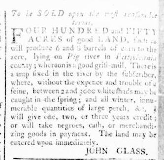Feb 4 - Virginia Gazette Rind Slavery 5