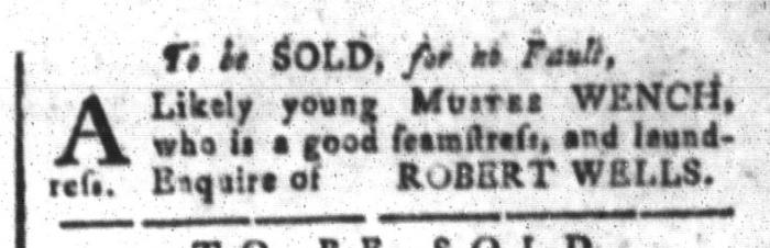 Feb 5 - South-Carolina and American General Gazette Slavery 4