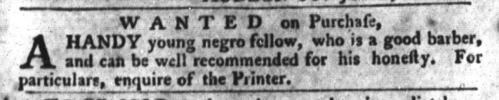 Feb 9 - South-Carolina Gazette and Country Journal Slavery 11