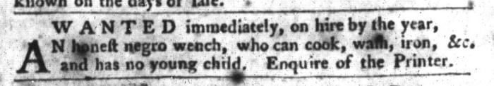 Feb 9 - South-Carolina Gazette and Country Journal Slavery 13
