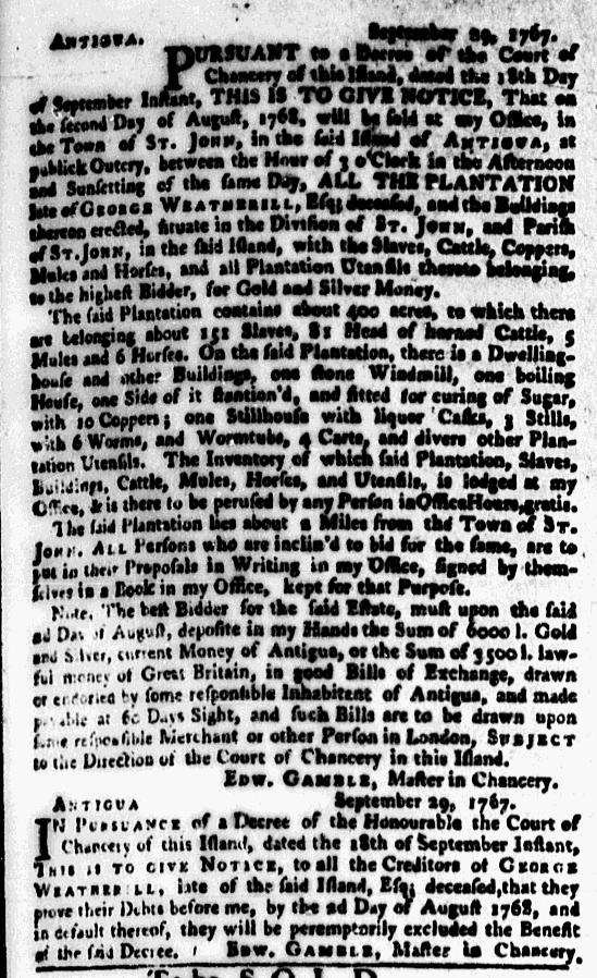 Jan 11 - New-York Mercury Supplement Slavery 1
