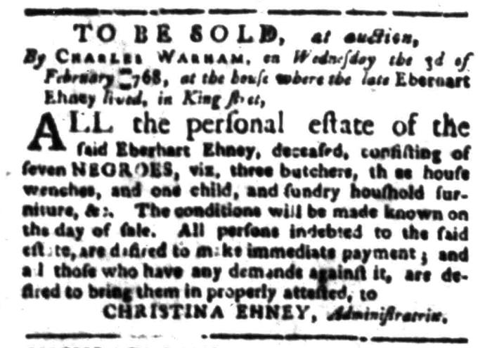 Jan 11 - South Carolina Gazette Slavery 7