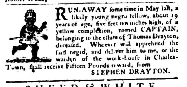 Jan 12 - South-Carolina Gazette and Country Journal Slavery 7