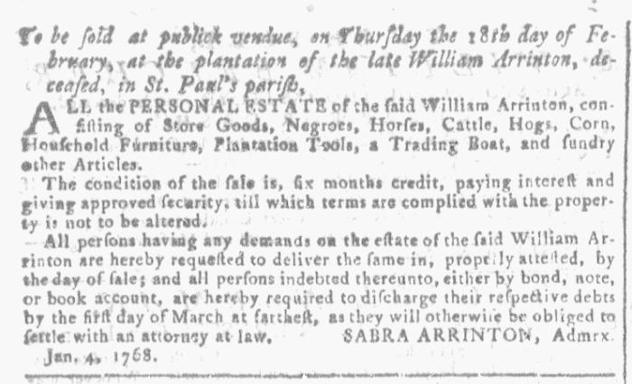 Jan 13 - Georgia Gazette Slavery 4