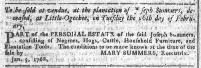 Jan 13 - Georgia Gazette Slavery 5