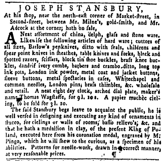 Jan 14 - 1:14:1768 Pennsylvania Gazette