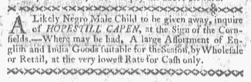 Jan 18 - Boston-Gazette Slavery 3