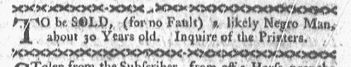 Jan 25 - Boston-Gazette Slavery 1