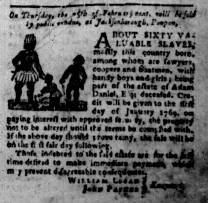 Jan 25 - South Carolina Gazette Slavery 3