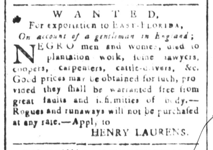 Jan 29 - South-Carolina and American General Gazette Slavery 5