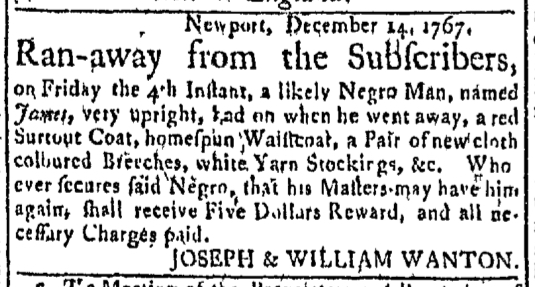 Jan 4 - Newport Mercury Slavery 2