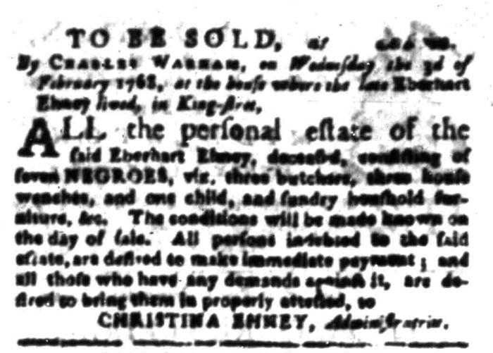 Jan 4 - South Carolina Gazette Slavery 10