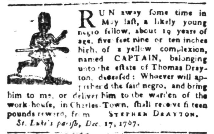 Jan 4 - South Carolina Gazette Slavery 4