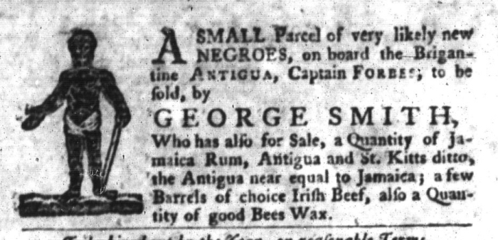 Jan 5 - South-Carolina Gazette and Country Journal Slavery 7