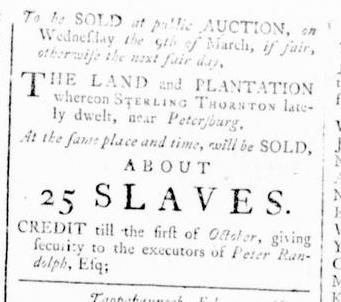 Feb 11 - Virginia Gazette Rind Slavery 2