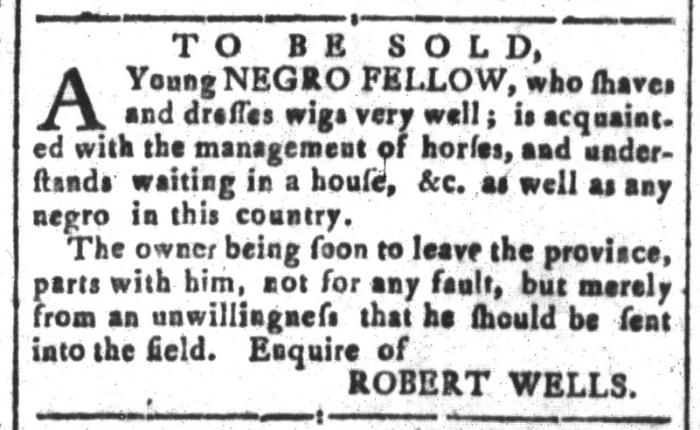 Feb 12 - South-Carolina and American General Gazette Slavery 2