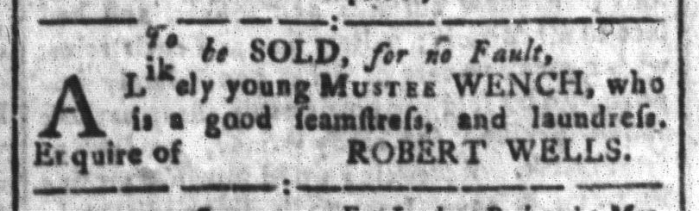 Feb 12 - South-Carolina and American General Gazette Slavery 8