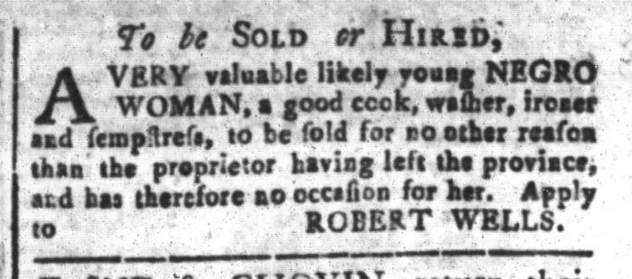 Feb 12 - South-Carolina and American General Gazette Slavery 9