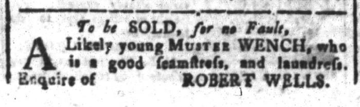 Feb 19 - South-Carolina and American General Gazette Slavery 2