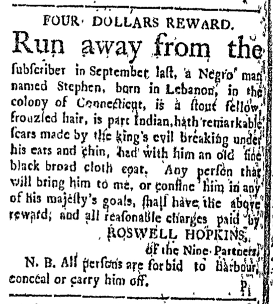 Feb 22 - Connecticut Courant Slavery 1
