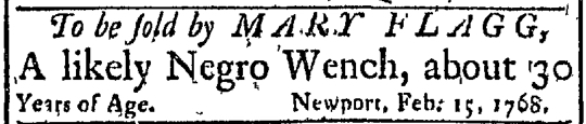 Feb 22 - Newport Mercury Slavery 2