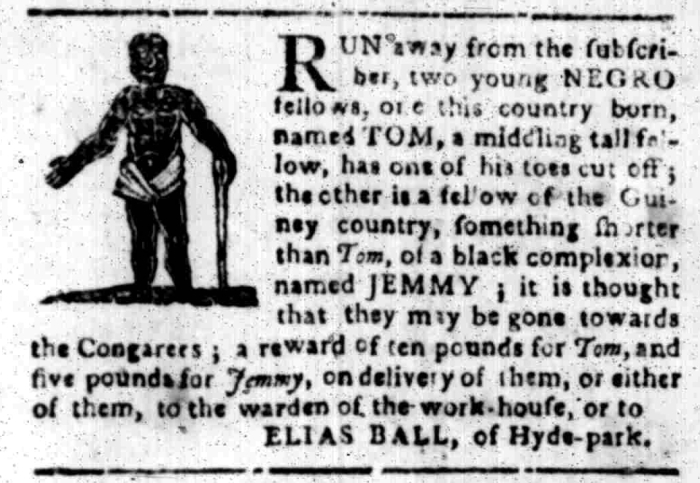 Feb 22 - South Carolina Gazette Slavery 3