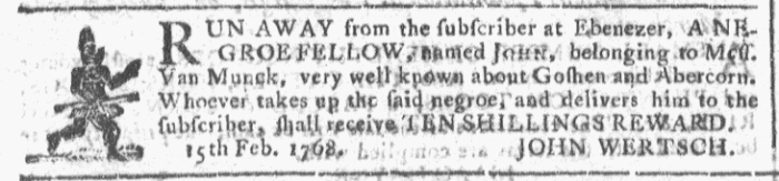 Feb 24 - Georgia Gazette Slavery 6