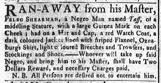 Feb 29 - Newport Mercury Slavery 1