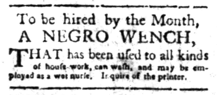 Feb 29 - South Carolina Gazette Slavery 3