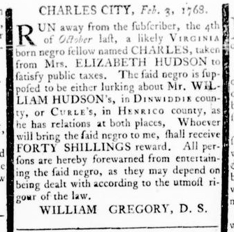 Mar 3 - Virginia Gazette Rind Slavery 6