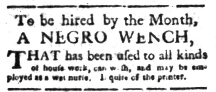 Mar 7 - South Carolina Gazette Slavery 9