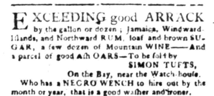 Apr 4 - South Carolina Gazette Slavery 6
