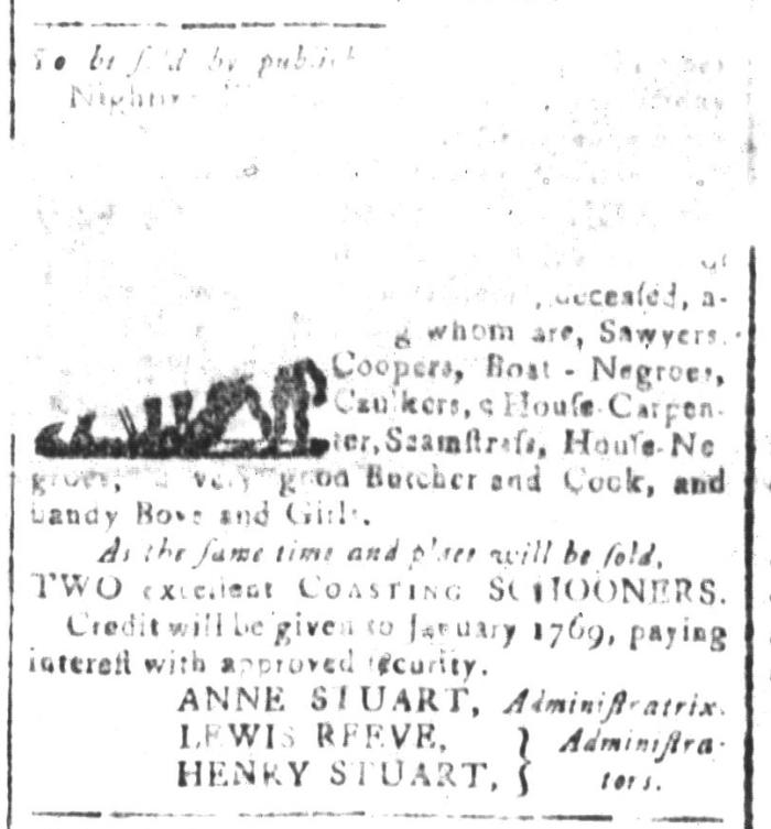 Apr 8 - South-Carolina and American General Gazette Slavery 3