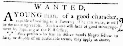 Mar 10 - Virginia Gazette Purdie and Dixon Slavery 3