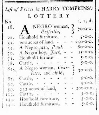 Mar 10 - Virginia Gazette Rind Slavery 1