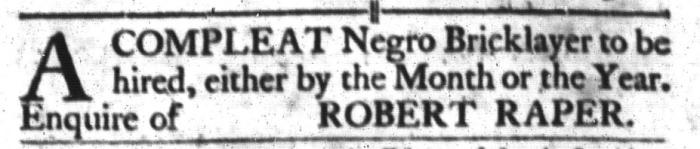 Mar 15 - South-Carolina Gazette and Country Journal Slavery 4