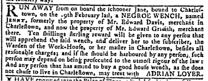 Mar 16 - Georgia Gazette Slavery 2