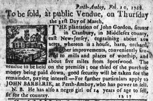 Mar 17 - New-York Journal Supplement Slavery 1