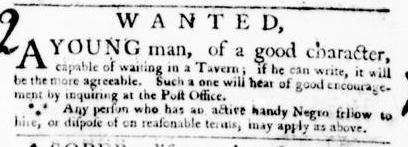 Mar 17 - Virginia Gazette Purdie and Dixon Slavery 3