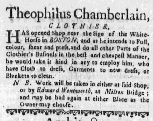 Mar 24 - 3:24:1768 Massachusetts Gazette